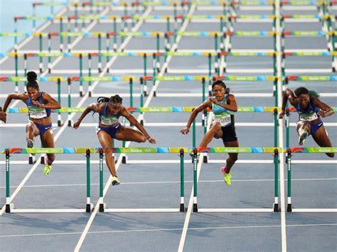 hurdles play us sweep 100m hurdles in for time