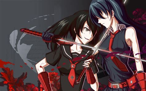 wallpaper hd anime akame ga kill akame ga kill wallpapers backgrounds