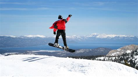 best snowboarding the five best lake tahoe resorts for snowboarding