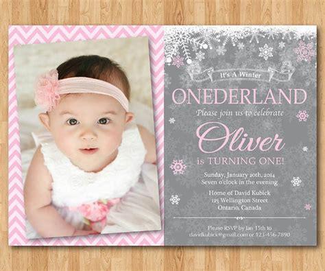 1 birthday card template winter onederland winter onederland invitation boy or birthday