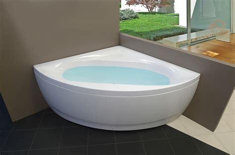 small corner bathtubs aquatica olivia wht small corner acrylic bathtub