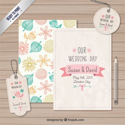 Wedding Card Labels wedding cards and labels vector free