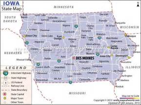 where is iowa on the map of united states 17 best images about us states on arizona