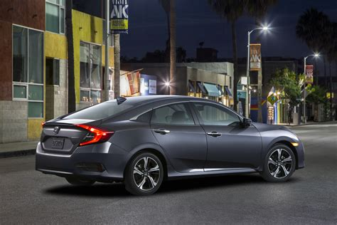 2016 honda civic sedan exterior and interior color options