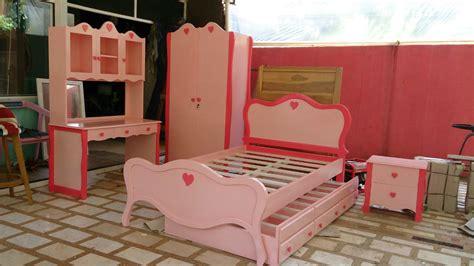 Set Anak set kamar anak minimalis model princess modern desain custom kesukaan anak