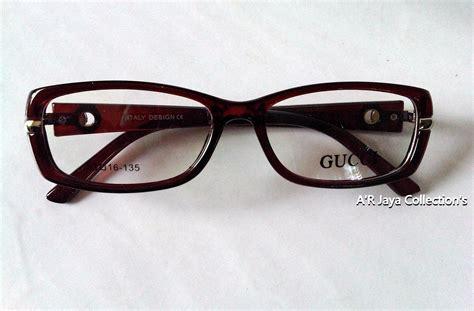Harga Frame Gucci jual promo frame kacamata gucci trendy lensa minus a