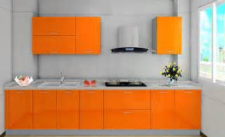 Orange Kitchen Cabinet by 3d Rendering Of White Kitchen Cabinets 3d House Free 3d