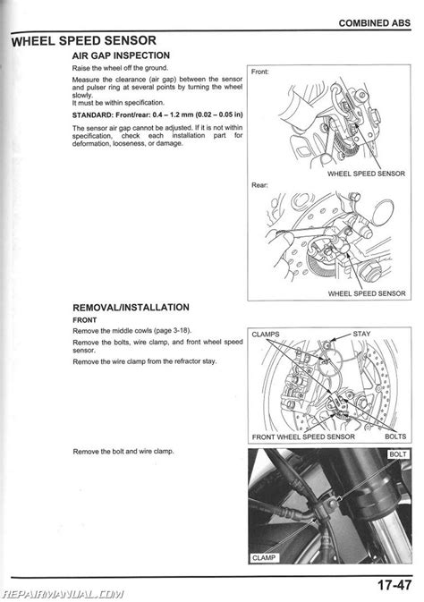 service manual 2008 2016 honda cbr1000rr motorcycle service manual