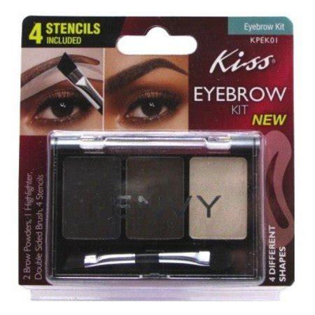 Eyebrow Kit eyebrow kit with 4 stencils walmart