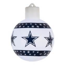 dallas cowboys lighted christmas ornament christmas tree