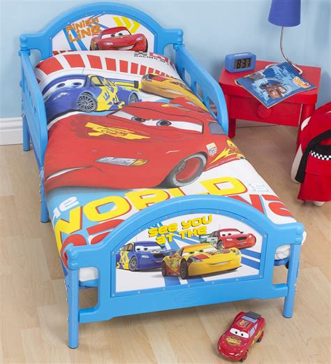 disney cars toddler bed set disney cars toddler bedding from the speed range at