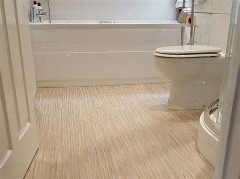 How To Install Vinyl Sheet Flooring by Sheet Vinyl Bathroom The Flooring