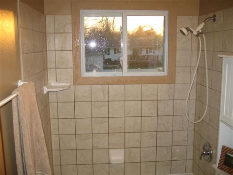 bathroom window trim 6 tile shower with corian window trim from davidson