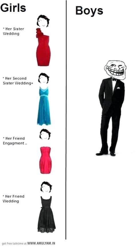 dressing sense of boys vs
