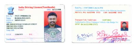 Verification Letter For Indian Driving License indian driving licence verification letter format