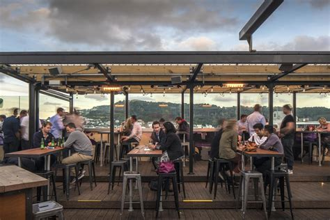 rooftop bar eatery tennent brown architects