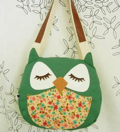 Totebag Owl Family By Bellezzeshop owl craziness on owl pillows owl applique and
