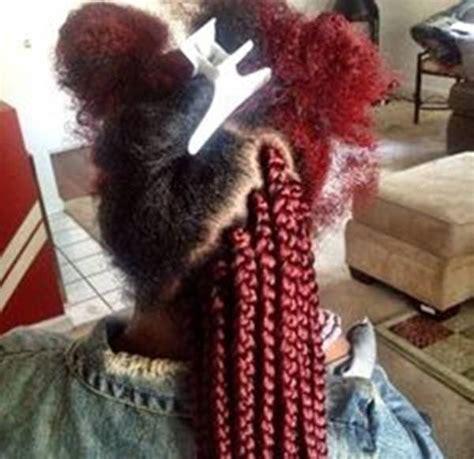 burgnary and black box braids 45 photos of rockin red box braids