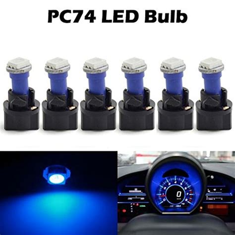 how to replace cluster bulbs on a 1994 land rover discovery partsam 6pack twist socket blue t5 73 74 led 5050 smd