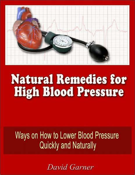 remedies for high blood pressure ways on how to