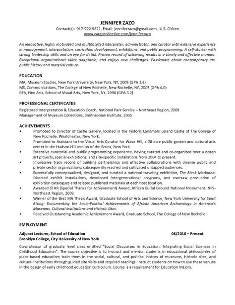 curator cover letter curator resume curator title cerificate of insurance