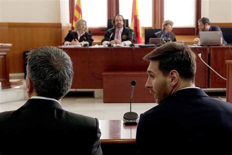 Messi Criminal Record Lionel Messi And His Sentenced To Suspended 21 Month Prison Term Tax