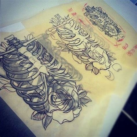 flower design quilmes 17 best images about ribcage tattoos art on pinterest