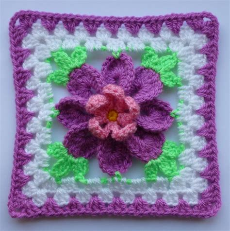 flower pattern granny square check out popular crocheting patterns on craftsy