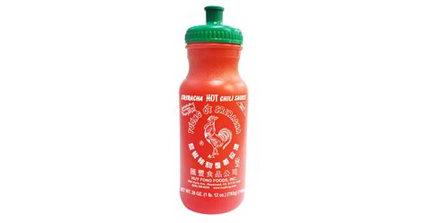 sriracha bottle sriracha water bottle drunkmall