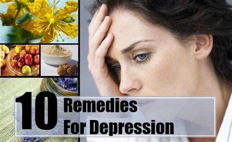 10 herbal remedies for depression treatments cure for