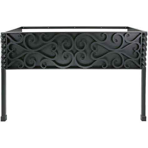Iron Vanity Base by Pictured Here Is The 47 5 Inch Wide Paisley Iron Bathroom