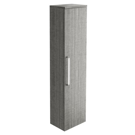 ash storage unit newton wall mounted storage unit in grey ash ebay