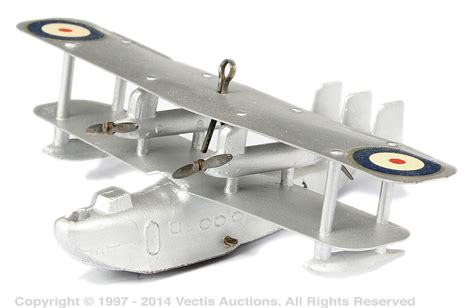 boat auctions singapore dinky no 60h pre war singapore flying boat vectis toy
