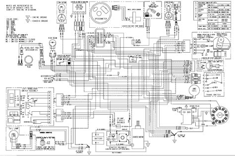 2002 polaris sportsman 500 ho wiring diagram motorcycle