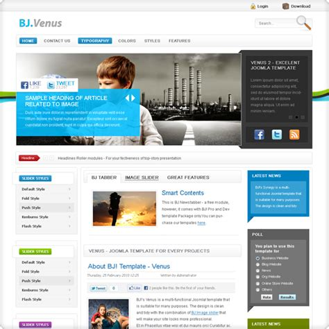 jooma templates joomla template collection forums crosstec