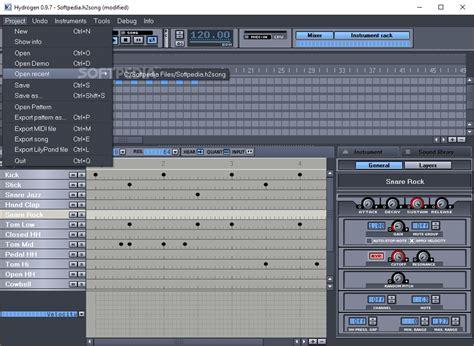 drum pattern hydrogen download hydrogen 0 9 7 1 0 0 beta 1