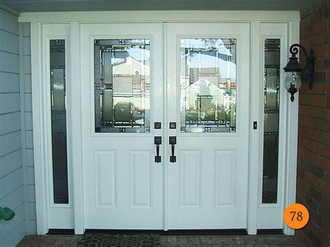 style plastpro smooth fiberglass entry doors with with amazing white front