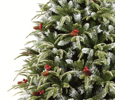 premier frosted spruce christmas tree gardensite co uk
