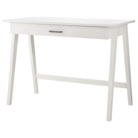 simple white desk for the home