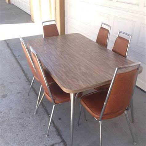 mid century kitchen table and chairs atomic mid century kitchen table and 6 chairs loveseat