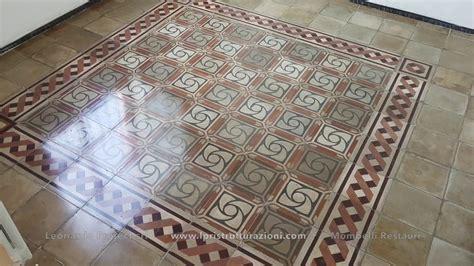 restauro pavimenti restauro pavimenti in pastina di cemento