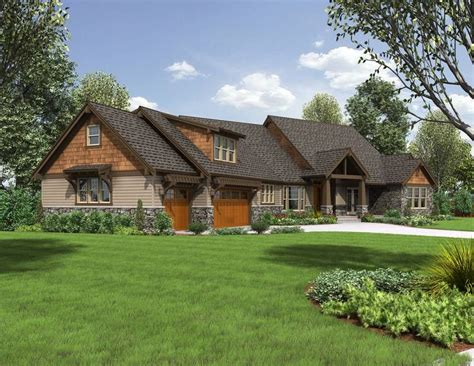 Craftsman Ranch House Plans by Craftsman Style Ranch Homes House Plan 2471 The