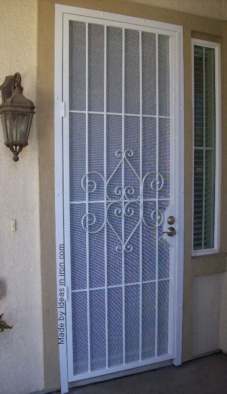 Security Front Doors For Homes Door Security Front Door Security Screen