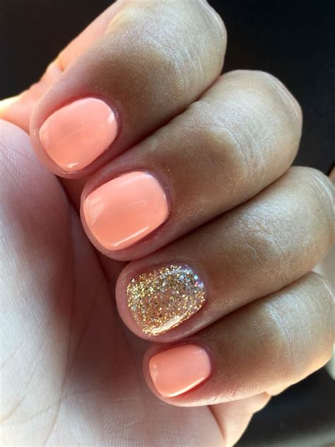 gel nail colors 25 best ideas about coral nail on