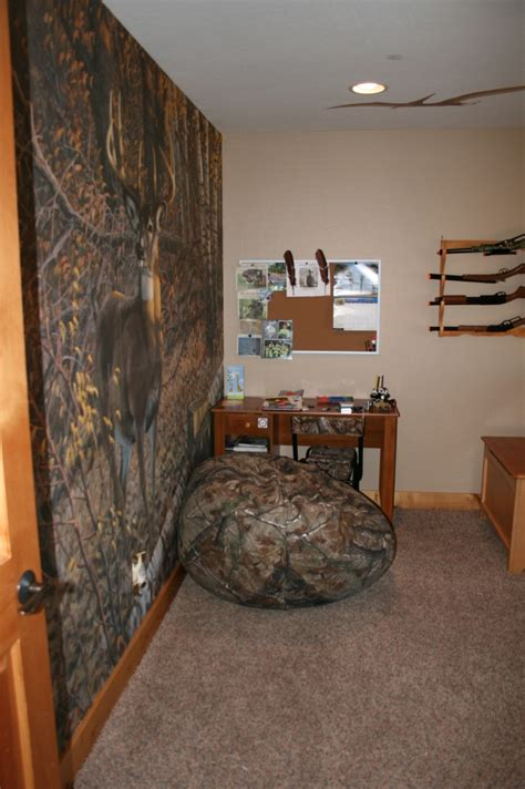 hunting themed bedroom c j room design pinterest