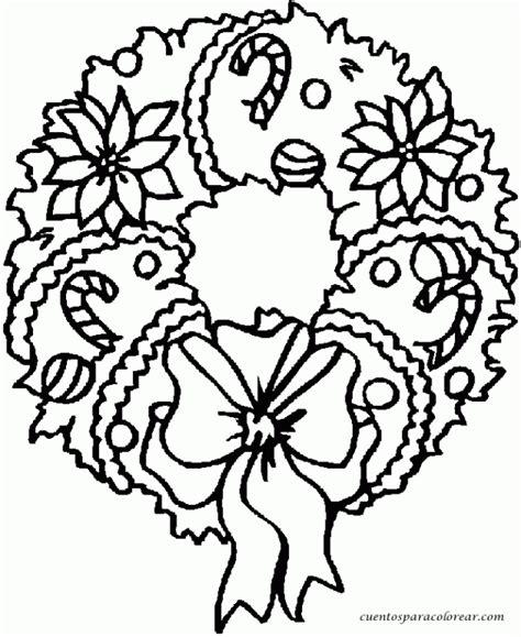 imagenes navideñas para colorear y descargar coronas navide 241 as dibujos para imprimir y pintar