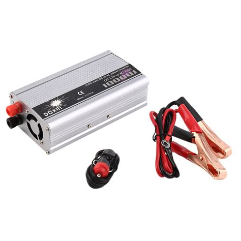 Ac Portable Watt Kecil dc 12v to ac 220v portable car power inverter charger