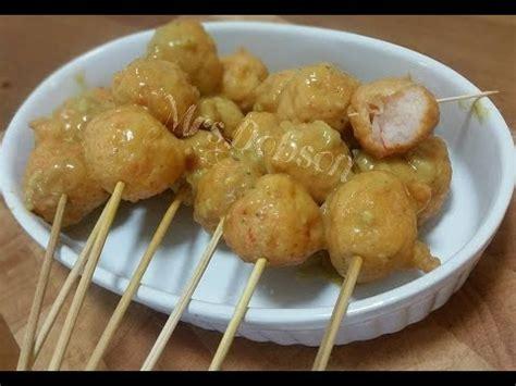 resep bakso ikan goreng youtube