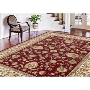 bliss rugs traditional area rug walmart