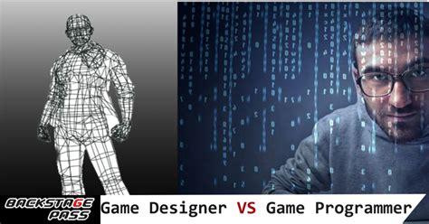 Game Design Vs Programming | game designing vs programming archives backstage pass